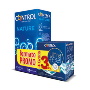Control Pack Nature 12 Unità + Control Ultra Feel 3 Unità