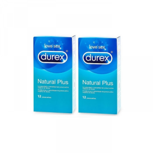 Durex Love Sex  Natural Plus 24 Unità
