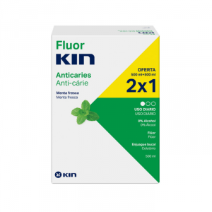Kin Fluorkin Collutorio 2x500ml