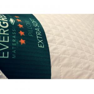 Evergreenweb - Cuscino Letto 40 x 70 alto 15 cm, Guanciale lavabile in lavatrice | SuperSoft