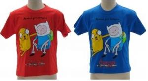 Adventure Time T-Shirt bambino Amici per Sempre maglia manica corta nuova cotone