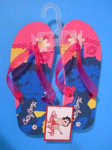 Betty Boop Blue Infradito Ragazza Ciabatte Mare Piscina