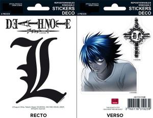 Death Note L mini stickers 16 x 11 cm