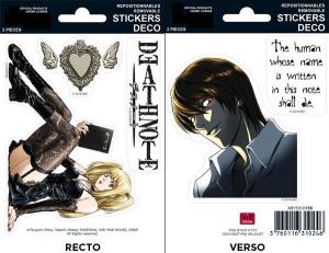 Death Note L Misa Raito mini stickers 16 x 11 cm