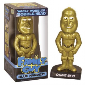 Griffin Star Wars Blue Harvest Quag-Quag-3PO wacky wobbler bobble Head figure 15 cm Funko