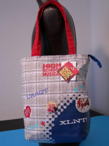 High School Musical borsa shopper con zip