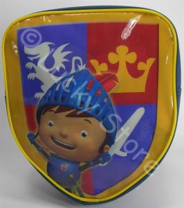 Mike il Cavaliere zainetto sagomato a scudo 30 cm