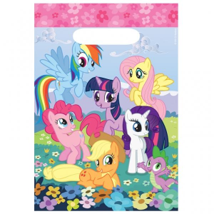 My Little Pony 8 sacchetti regalo party
