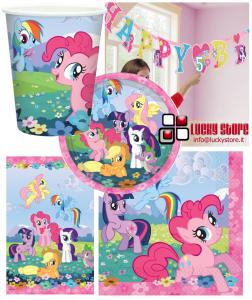 My Little Pony set party addobbi e  tavola