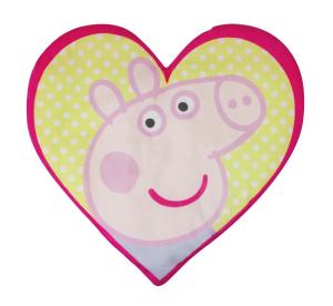 Peppa Pig portapigiama Sagomato Peluche Velcro Originale