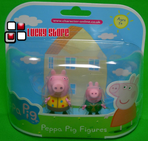 Peppa Pig Georrge Scout mini figure blister