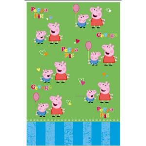 Peppa Pig tovaglia blu PVC 120x180 festa party compleanno