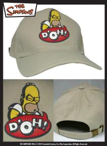 Simpsons Homer D'oh cappellino baseball adulto ragazzo