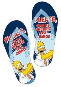 Simpsons Homer Please Infradito Uomo Ciabatte Mare Piscina