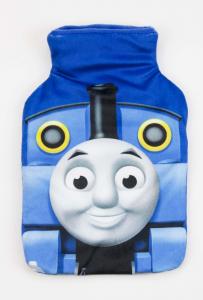 Trenino Thomas bottiglia acqua calda scaldaletto peluche velcro