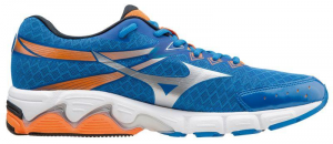 Scarpa running MIZUNO WAVE CONNECT 2 Bluette-grigio-arancio