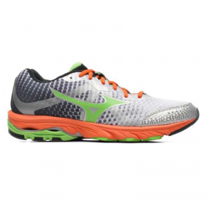 Scarpa running MIZUNO WAVE ELEVATION Bianco-verde-arancio