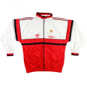 1990-92 AC Milan Giacca Tuta XL (Top)