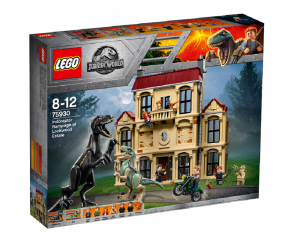 LEGO JURASSIC PARK ATTACCO DELL'INDORAPTOR AL LOCKWOOD ESTATE 75930