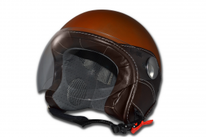 Casco jet LS Vision Rust Ruggine