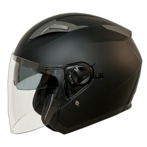 Casco Jet One Jettone Nero Opaco