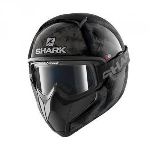 Casco integrale Shark Vancore Flare nero argento nero
