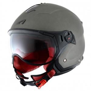 Casco jet Astone Helmets Minijet Sport Titanio opaco