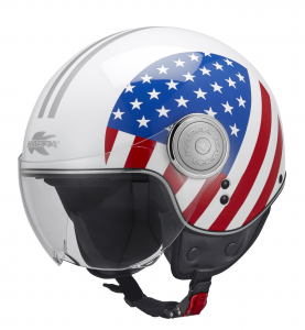 Casco jet Kappa KV8 National USA
