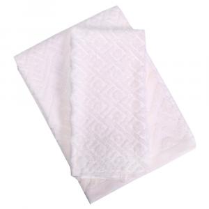 Set 1+1 asciugamano e ospite ZUCCHI Basics GEOMETRIC v.5 beige