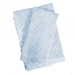 Set 1+1 asciugamano e ospite ZUCCHI Basics GEOMETRIC v.7 grigio