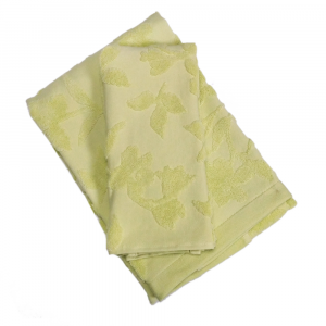Set 1+1 asciugamano e ospite ZUCCHI Basics FRAGRANCES v.2 verde