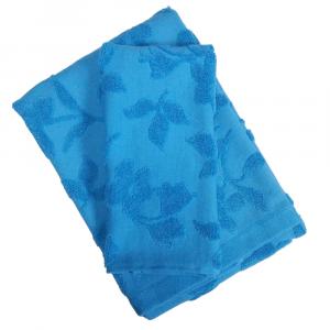 Set 1+1 asciugamano e ospite ZUCCHI Basics FRAGRANCES v.3 turchese