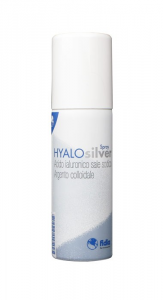 HYALOSILVER - SPRAY A BASE DI ACIDO IALURONICO E ARGENTO METALLICO