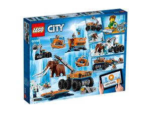 LEGO CITY BASE MOBILE DI ESPORAZIONE ARTICA 60195