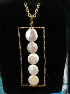 Collana Alcozer collezione unic con perle