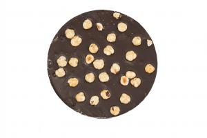 Tortina cioccolato fondente e nocciole intere - 160gr