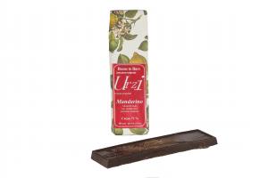Tavoletta cioccolato fondente al mandarino - 100gr