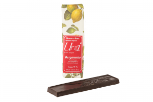 Tavoletta cioccolato fondente al bergamotto - 100gr