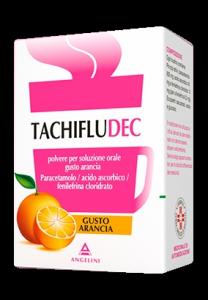 Tachifludec influenza e raffreddore gusto arancia