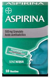 Aspirina dolore e infiammazione 10 bustine