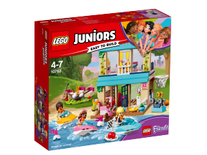 LEGO JUNIORS LA CASA SUL LAGO DI STEPHANIE 10763