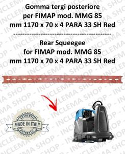 MMG 85 Bavette arrière pour autolaveuses FIMAP