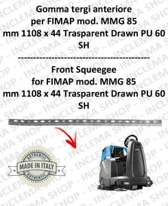 MMG 85 goma de secado delantera para fregadora FIMAP
