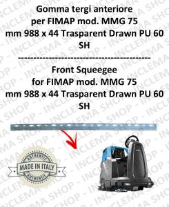 MMG 75 Vorne sauglippen für scheuersaugmaschinen FIMAP