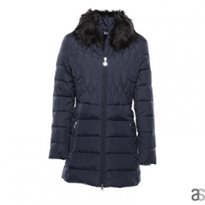 EA7 Down Jacket Ecofur W Nero