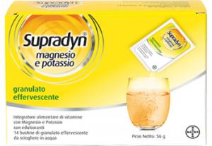 Supradyn Magnesio e Potassio 14 bst