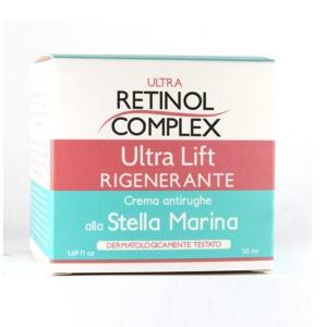 RETINOL COMPLEX ULTRA LIFT RIGENERANTE CREMA VISO ANTIRUGHE STELLA MARINA