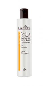 EUPHIDRA - BODY CLEAN SHAMPOO/BALSAMO RIPARATORE FORTI E PROTETTI