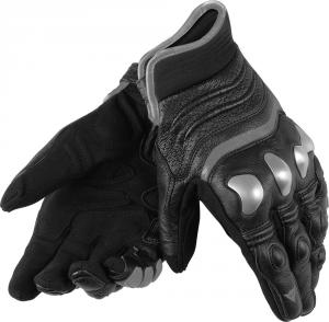 Guanti moto pelle Dainese X-Strike con protezioni nero antracite