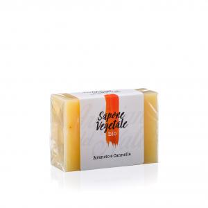 Sapone Bio naturale a base di oli vegetali - Arancio e Cannella